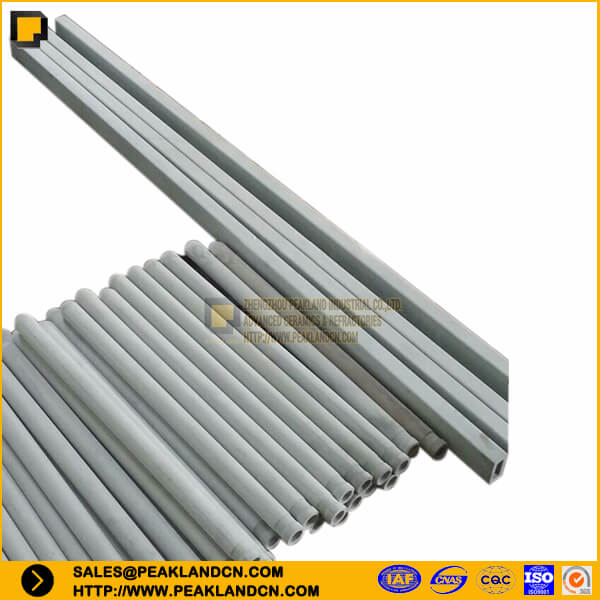 nsic tube silicon carbide tube nsic thermocouple protective tube nsic beams -www.peaklandcn.com