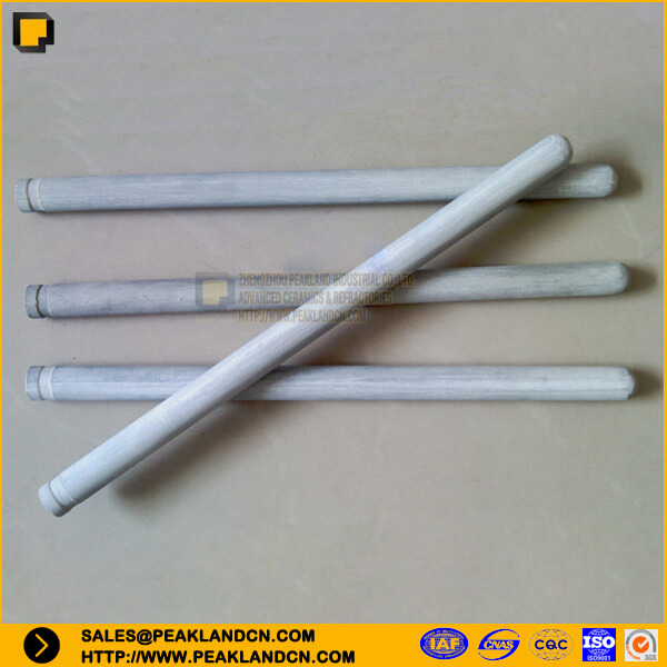 nsic tube silicon carbide tube nsic thermocouple protective tube -www.peaklandcn.com