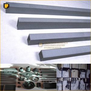 rsic recrystallized silicon carbide kiln furniture