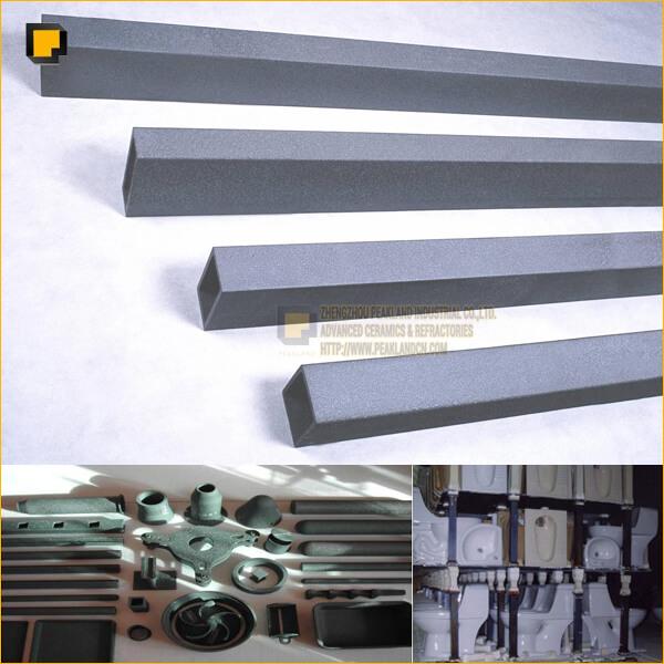 rsic recrystallized silicon carbide kiln furniture