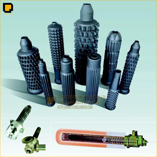 sic flame tube, sisic radiation heating system-www.peaklandcn.com