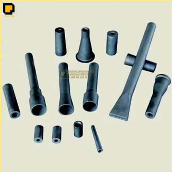 sisic rbsic sandblast nozzles -www.peaklandcn.com