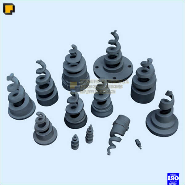 sisic rbsic spiral nozzle -www.peaklandcn.com
