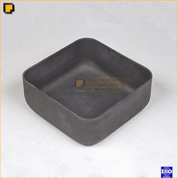 Recrystallized Silicon Carbide Crucibles