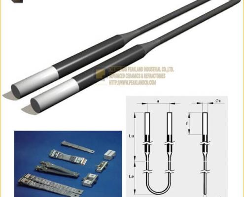 molybdenum disilicide heating elements