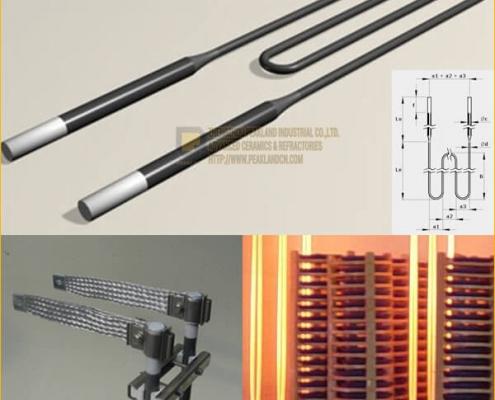 w type molybdenum disilicide heating elements
