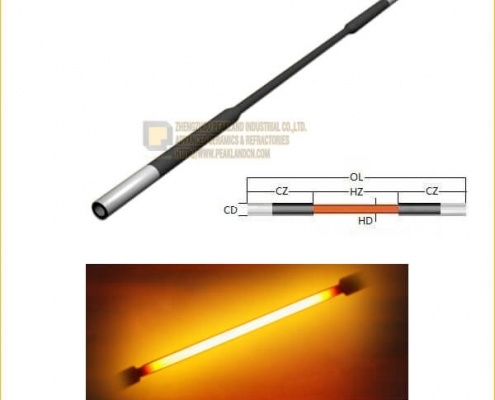 Dumbbell Type Silicon Carbide Heating Elements